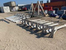 Bespoke solid aluminium gantry system. *N.B. This lot has no record of Thorough Examination. The