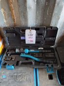 Zupper YQK.300 hydraulic crimping tool *This lot is located at Gibbard Transport, Fleet Street