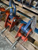 Two 3 tonne Beam Clamps. *N.B. This lot has no record of Thorough Examination. The purchaser must