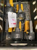 Five Lighthouse torches & two Workstar Nightsearcher lights * This lot is located at Unit 15,