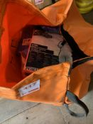 A bag of PPE inc FR coveralls and Overshoes *This lot is located at Gibbard Transport, Fleet