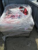 Pallet containing various size lifting straps. *N.B. This lot has no record of Thorough Examination.