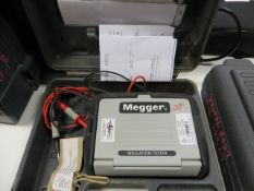 Meggar MIT300 insulation tester * This lot is located at Unit 15, Horizon Business Centre, Alder