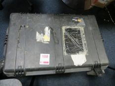 EXFO fibre guardian unit constant testing OTDR testing unit complete with HP laptop and diagnostic