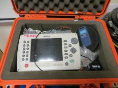 Amritsu MT9083 OTDR fibre optic tester single/multi mode complete with SC launch lead and multi mode