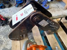 10 tonne Beam Clamp. *N.B. This lot has no record of Thorough Examination. The purchaser must ensure