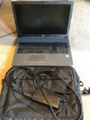 """Hewlett Packard Core i5 8th Generation15"""" HP 250G7 laptop model RTL8821CE c/w charger & case. * This"""