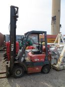 Nexen FG15 gas/diesel fork lift truck s/n Y317918 suitable for spares and repairs. *N.B. This lot