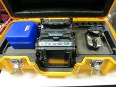 FUJIKURA 70S core alignment fusion splicer complete with handy cleaver model FC-8R & FC-6RS cleaver