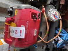Honda EU20i 230V dual fuel inverter generator *This lot is located at Gibbard Transport, Fleet