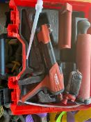 Hilti HDM 330 glue gun *This lot is located at Gibbard Transport, Fleet Street Corringham, Essex