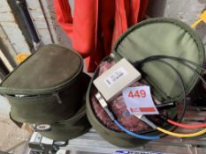 Eight Acutest cable testers in bags *This lot is located at Gibbard Transport, Fleet Street