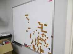 Seven Dry Wipe Boards* This lot is located at Unit 15, Horizon Business Centre, Alder Close,