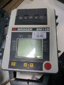 Megger BM11D 5kv insulation tester * This lot is located at Unit 15, Horizon Business Centre,