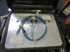 Set of 2km SC to FC launch leads single mode * This lot is located at Unit 15, Horizon Business