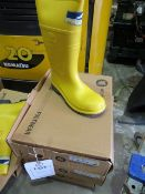Three pairs of Respirex Workmaster Specialist Dielectric Protective Footwear size 10 (Boxed)
