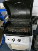 Laguna two burner gas BBQ with Gosystem butane single burner stove and carry case * This lot is