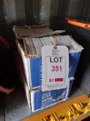 4 x Lifting Gear 0.5t 3m chain blocks, serial numbers 22130205, 22130224, 22130221 & 22130217 (boxed