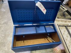 Small Bot lockable tool chest * This lot is located at Unit 15, Horizon Business Centre, Alder
