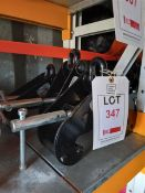 3 x Lifting Gear S.W.L 2000KGS beam clamps (70-230mm), serial numbers 3108340, 3108350 & 9108345. *
