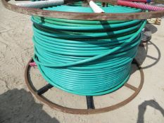 Reel of Radius 32/27mm Fibre Optic Cable Conduit -L26 *This lot is located at Gibbard Transport,
