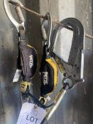 Petzl professional double lanyard with intergrated energy absorber. *N.B. This lot has no record