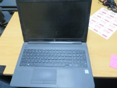 """Two HP Core i7 15"""" laptops, a HP core i5 15"""" 10th generation laptop and a HP core i5 15"""" 8th"""