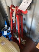 A frame mobile pipe bender *This lot is located at Gibbard Transport, Fleet Street Corringham, Essex