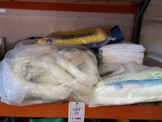 Various spill kits, spill nappies and socks for oils and fuel spillages as lotted * This lot is