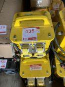 Three 110v Transformers *This lot is located at Gibbard Transport, Fleet Street Corringham, Essex