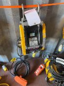 Jake DU-300A 300Kg electric mini wire rope hoist 110V. *N.B. This lot has no record of Thorough