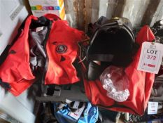 Ursuit immersion suit and Petzl volt harness and carry bag. *N.B. The harness has no record of