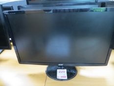 """Three Acer 24"""" Screens* This lot is located at Unit 15, Horizon Business Centre, Alder Close,"""