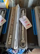 """2x Clarke 1/2"""" drive torque wrenches *This lot is located at Gibbard Transport, Fleet Street"""