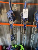 Two Lifting Gear 3000Kg Lever hoists. *N.B. This lot has no record of Thorough Examination. The