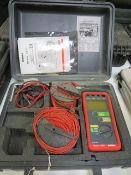 Geo earth resistance tester * This lot is located at Unit 15, Horizon Business Centre, Alder