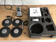 Philips Pocket Memo meeting recorder model LFH0955 including digital recorder, docking station,...