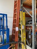 Two 11 tread wooden ladders * This lot is located at Unit 15, Horizon Business Centre, Alder