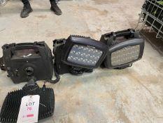 Three Solaris LED lights * This lot is located at Unit 15, Horizon Business Centre, Alder Close,