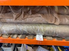 Eleven Rolls of hessian * This lot is located at Unit 15, Horizon Business Centre, Alder Close,