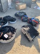 Seven various round paf bags/lifting bags. *N.B. This lot has no record of Thorough Examination. The