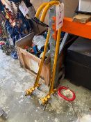Two mobile lifting poles *N.B. This lot has no record of Thorough Examination. The purchaser must