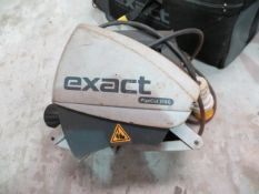Two Excact 170E pipe cutting machines with four sets of wheels * This lot is located at Unit 15,