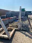 Large steel reel winder asset no TE3361. *N.B. This lot has no record of Thorough Examination. The