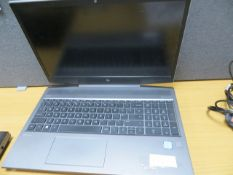"""HP Bang & Olufsen Core i7 8th Generation 15"""" Laptop* This lot is located at Unit 15, Horizon"""