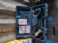 Bosch GSA 1100 110V reciprocating saw *This lot is located at Gibbard Transport, Fleet Street