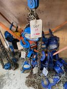 Lifting Gear 3000Kg 3m chain hoist s/n 16051113 (2016). *N.B. This lot has no record of Thorough