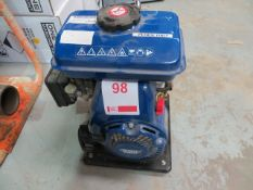 Draper Expert 2.5 HP petrol water pump part No PWP26 * This lot is located at Unit 15, Horizon