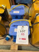 Two Carroll and Meynell 110V 3.0kVA transformers * This lot is located at Unit 15, Horizon