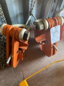 Two WH-BC15 15 tonne Hackett Beam Clamps, Beam Range 203-457mm (2016). *N.B. This lot has no